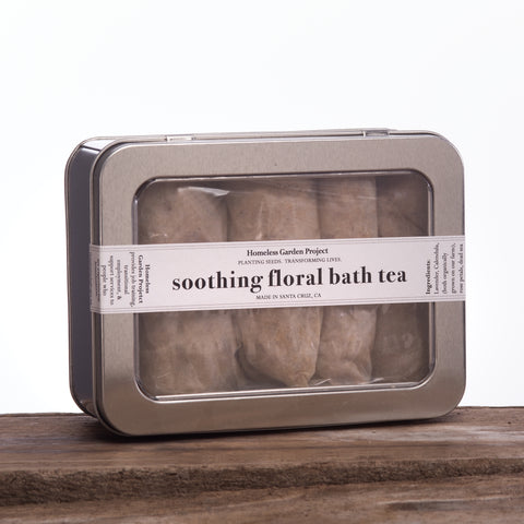 Soothing Floral Bath Tea