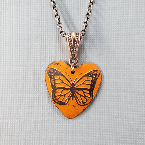 Magical Monarch Necklace - Laurie Tholen