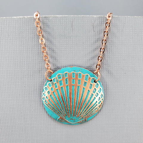 Scallop Shell Necklace - Laurie Tholen