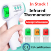 Touch-Free Infrared Forehead Thermometer - For Kids or Adults