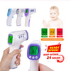 Forehead Thermometer-Touchless Thermometer for Fever/ Infrared Non-contact Thermometer Forehead Thermometer Instant Read Fever Indicator Thermometer LCD IR Infrared Handheld Thermometer for Kids / Men and Women In Stock