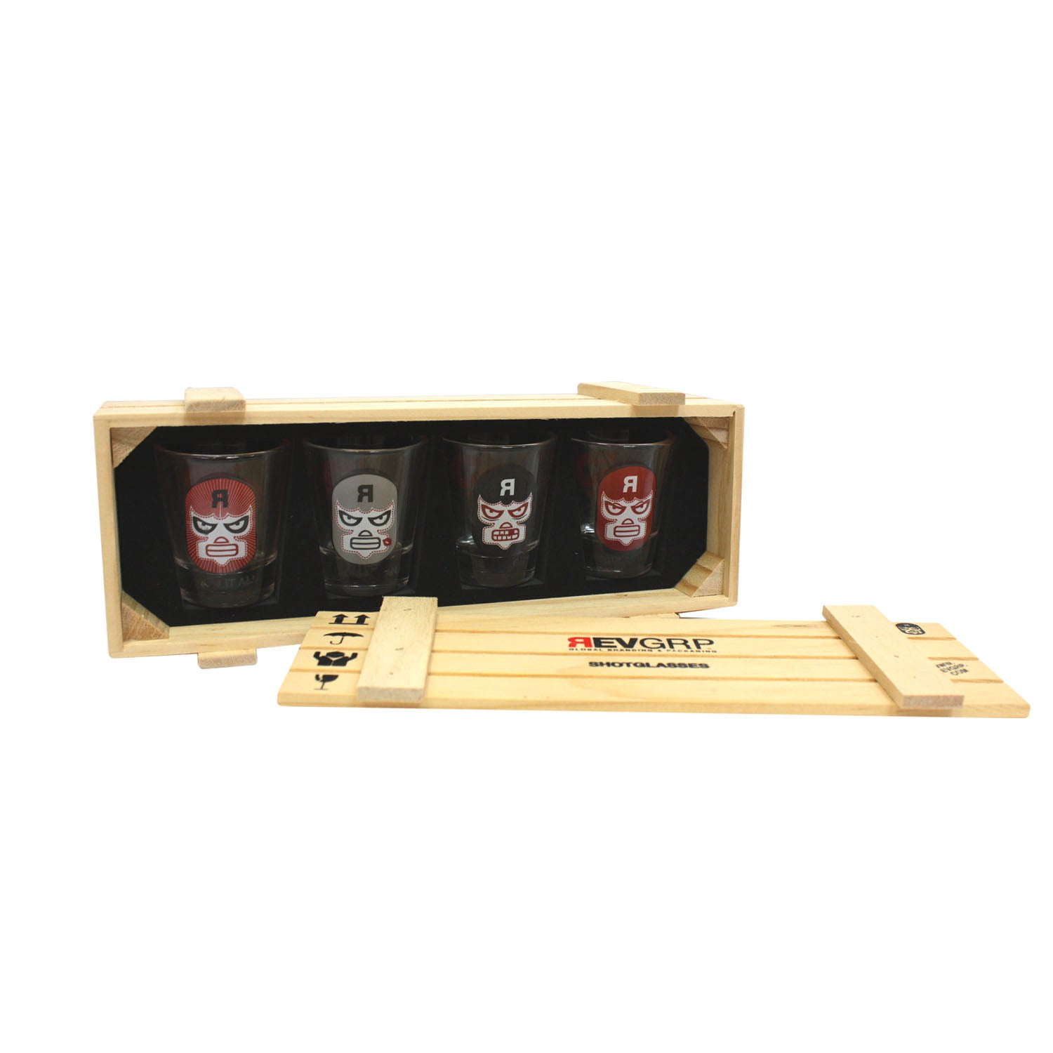 REVMAN Shot Glass Set
