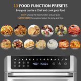Gevi 13-in-1 Air Fryer Oven, 19 Quart Convection Countertop Oven(Refurbished-Good)