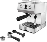 Gevi Espresso Machine 15 Bar Coffee Maker with Foaming Milk Frother Wand for Espresso, Cappuccino, Latte and Mocha, Steam Espresso Maker For Home Barista,Stainless Steel,1050W(Refurbished-Like New)