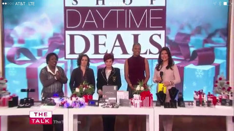 These product featured during The Talk Show, By Hollywood sensation The Talk On CBS