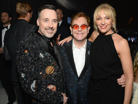 Academy Awards Viewing Party  The Elton John AIDS Foundation (EJAF) is a nonprofit organization, established by rock musician Sir Elton John February 26, 2017 West Hollywood Park West Hollywood, CA  The 25th annual Elton John AIDS Foundation Academy Awards Viewing Party hosted by Sir Elton John and David Furnish
