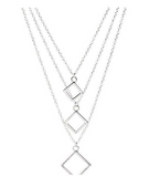 Carmen Necklace 925 Sterling Silver Plated- Necklace for Women- Pendant Necklace- Necklace Pendant