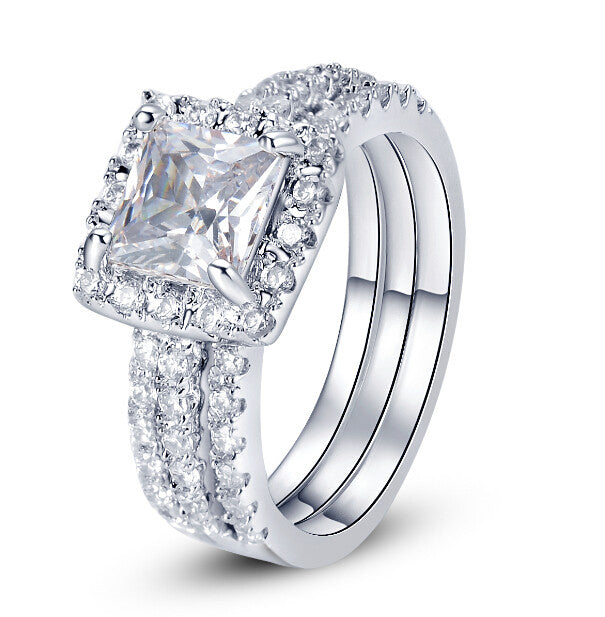 Cubic Zirconia Rings-Hollywood Sensations-Crystal Daydream Ring-Cubic Zirconia Engagement Rings