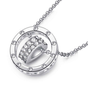 Heart Necklace-Simulated Diamond Heart Necklace - Hollywood Sensation