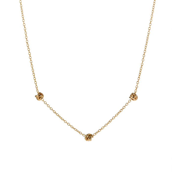 Dainty Love Knot Necklace