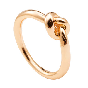 Dainty Love Knot Ring Commitment Ring , Fashion Jewelry Brands