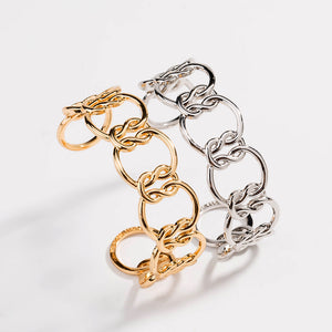 Love Knot Friendship Cuff Bangle