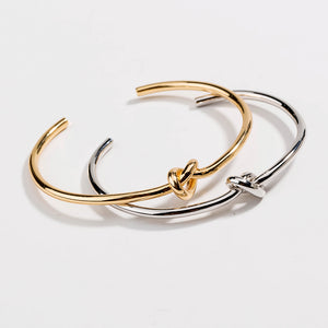 Love Knot Bracelet Cuff-Hollywood Sensations- Cuff Bangle