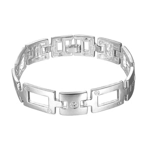 Misty  925 Silver Sterling Plated Chain Bracelet-Bracelet for Women - Hollywood Sensation
