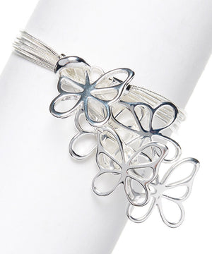 Butterfly Bracelet Sterling Silver Plated - Hollywood Sensation