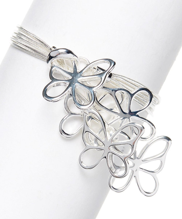 Butterfly Bracelet Sterling Silver Plated