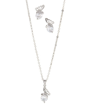 Butterfly Necklace and Butterfly Earrings - Hollywood Sensation