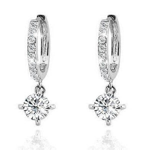 Crystal Dangle Earrings Cubic Zirconia - Hollywood Sensation