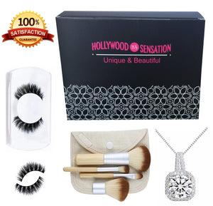 Travel Size 4 Pieces Makeup Brushes - Hollywood Sensation