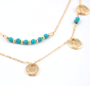 Layered Necklaces with a Boho Style - Hollywood Sensation