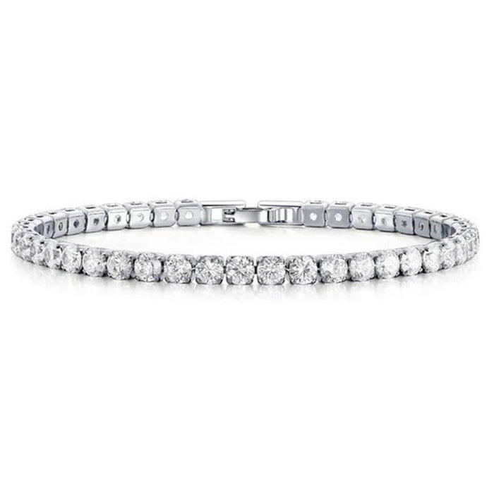 Single Row Tennis Bracelet-Hollywood Sensations Cubic Zirconia Tennis Bracelet