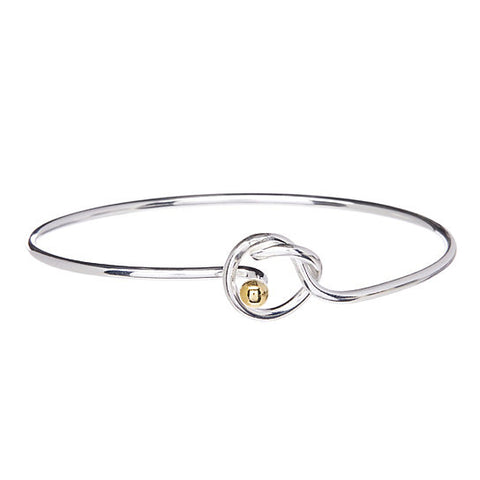Bella Love Knot Bracelet- Silver Plated Bracelet- Bracelets for Women- Mothers Day - Hollywood Sensation