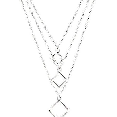 Carmen Necklace 925 Sterling Silver Plated- Necklace for Women- Pendant Necklace- Necklace Pendant - Hollywood Sensation