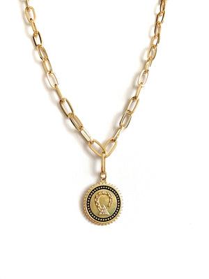 Boho Coin Necklace