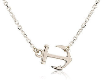 Caribbean Soul Anchor Necklace - Hollywood Sensation
