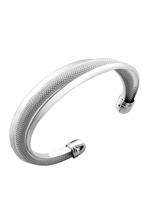925 Sterling Silver Plated Bangle Bracelet -Mandy Bracelet for women - Hollywood Sensation