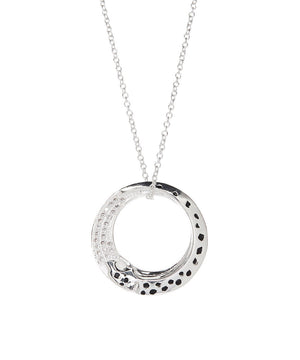 Karma Necklace 925 Sterling Silver Plated- Silver Necklace for Women- Sterling Silver Necklace- Pendant Necklace- - Hollywood Sensation