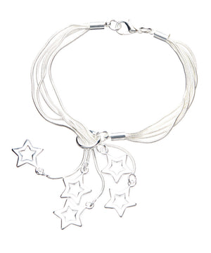 Sterling Silver Bracelets for Women Shooting Star Bracelet - Hollywood Sensation