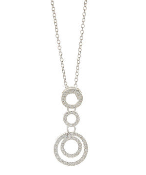 Kennedy Necklace 925 Sterling Silver Plated-Necklace for Women- Pendant Necklace- Necklace Pendant - Hollywood Sensation