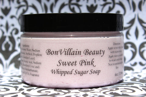 Sweet Pink Whipped Soap