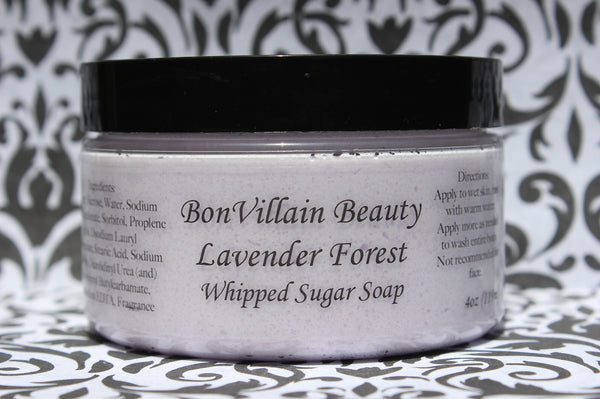 Lavender Forest Whipped Soap