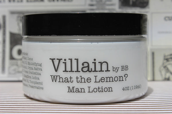 What the Lemon? Man Lotion