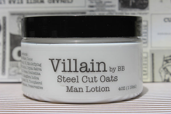 Steel Cut Oats Man Lotion