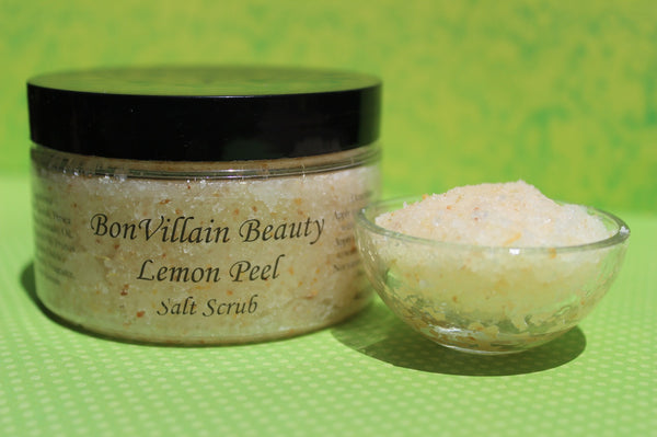 Lemon Peel Salt Scrub
