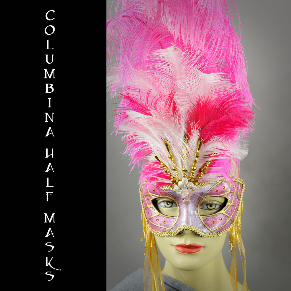 Columbina Half Masks
