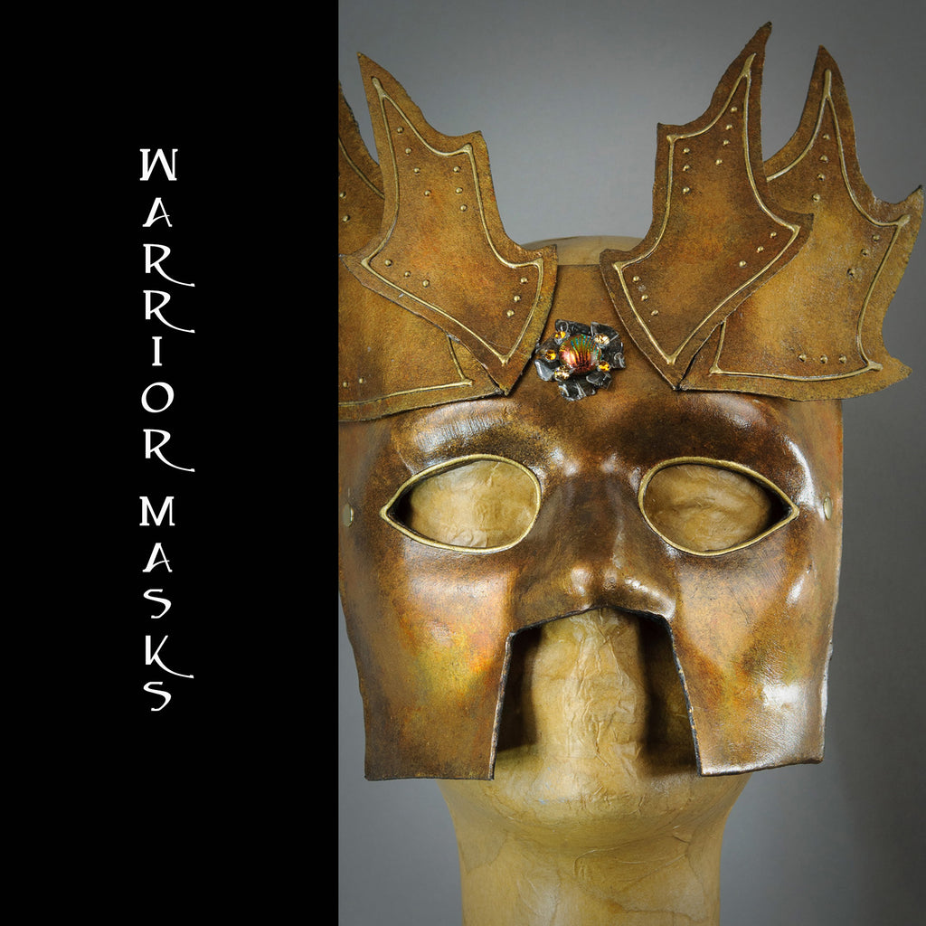 Warrior Bauta Masquerade Masks