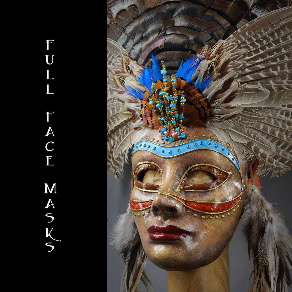 Full Face Masquerade Masks