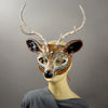Brown Buck Deer Mask side view