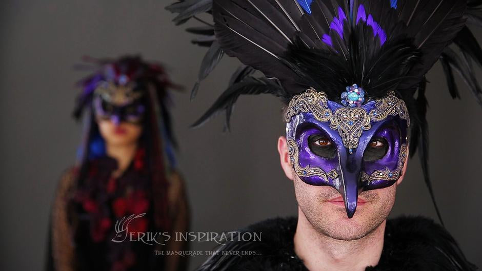 Eriks Inspiration dragonfly mask Maskidermy