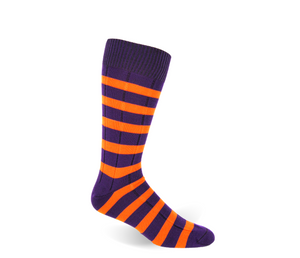 Purple and Orange Stripe