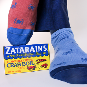 Crab Socks - ELL & Atty