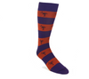 Palmetto Stripe Sock