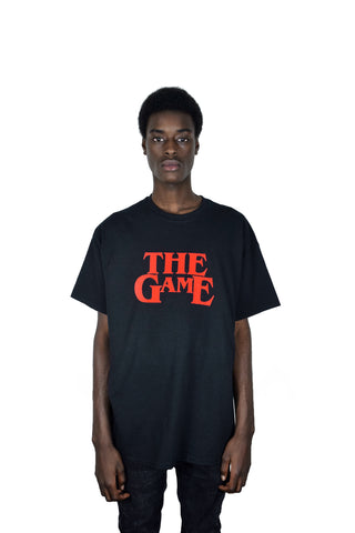 THE GAME IS THE GAME T-SHIRT (BLACK)