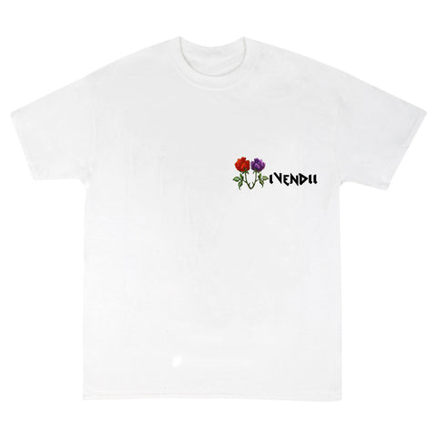 VIVENDII Rose logo t-shirt WHITE