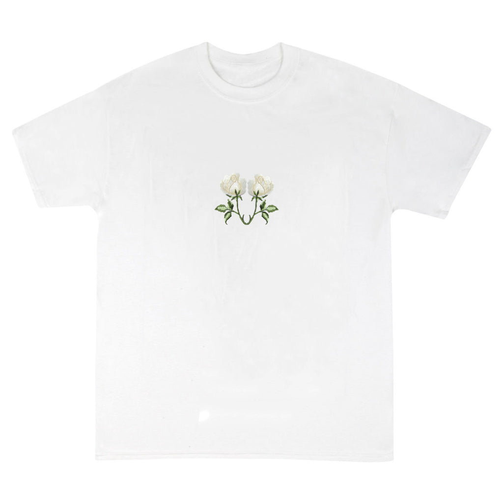 Vivendii V Rose logo t-shirt CREAM