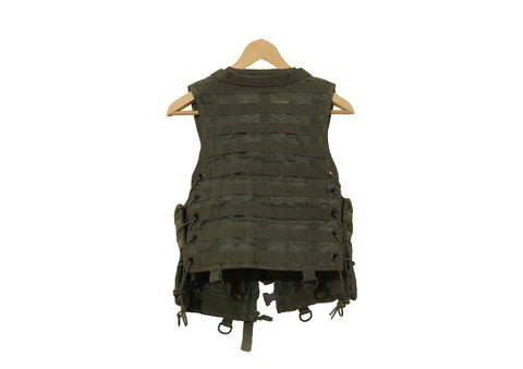 Olive composed tactical vest